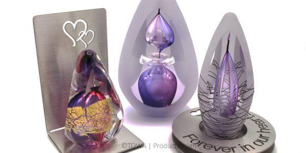 Glass urn – Premium A-line