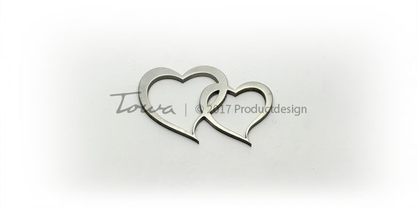 Stainless steel accessories – Hearts