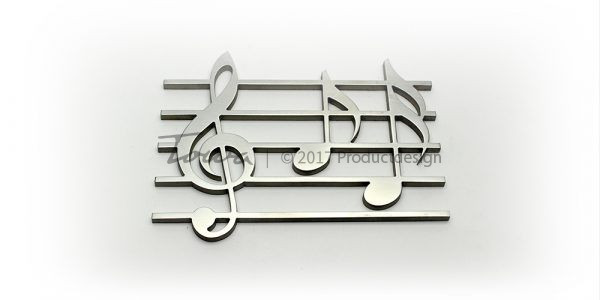 Stainless steel accessorie – Music