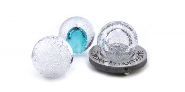 Glass urn – Stardust line