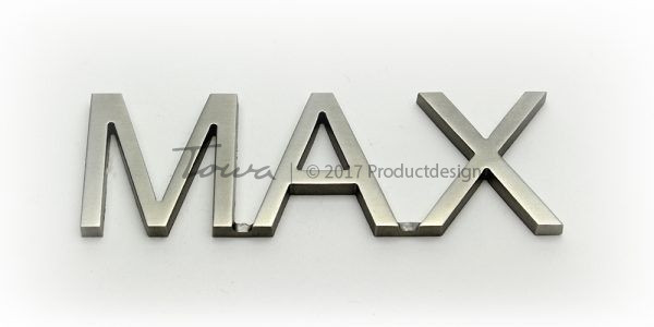 Stainless steel font Max