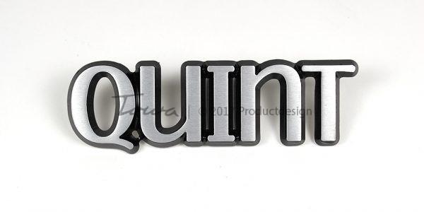 Quint aluminium font style