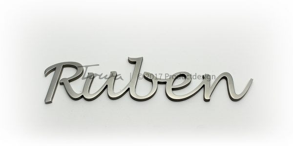 Stainless steel font Ruben
